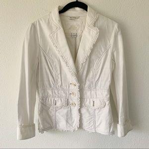 WHITE HOUSE BLACK MARKET Boho Jacket Blazer